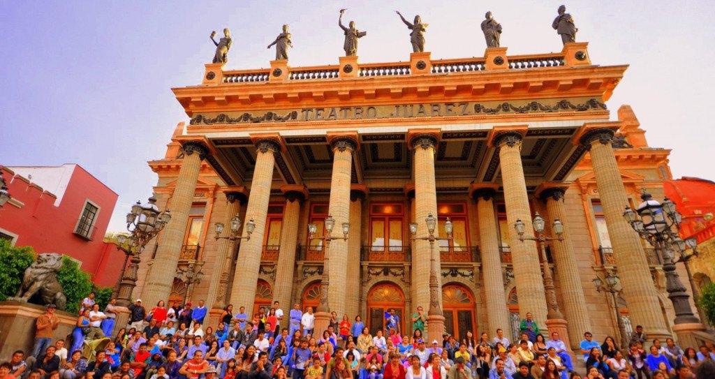 Théâtre Juarez - Guanajuato ©pegatina1