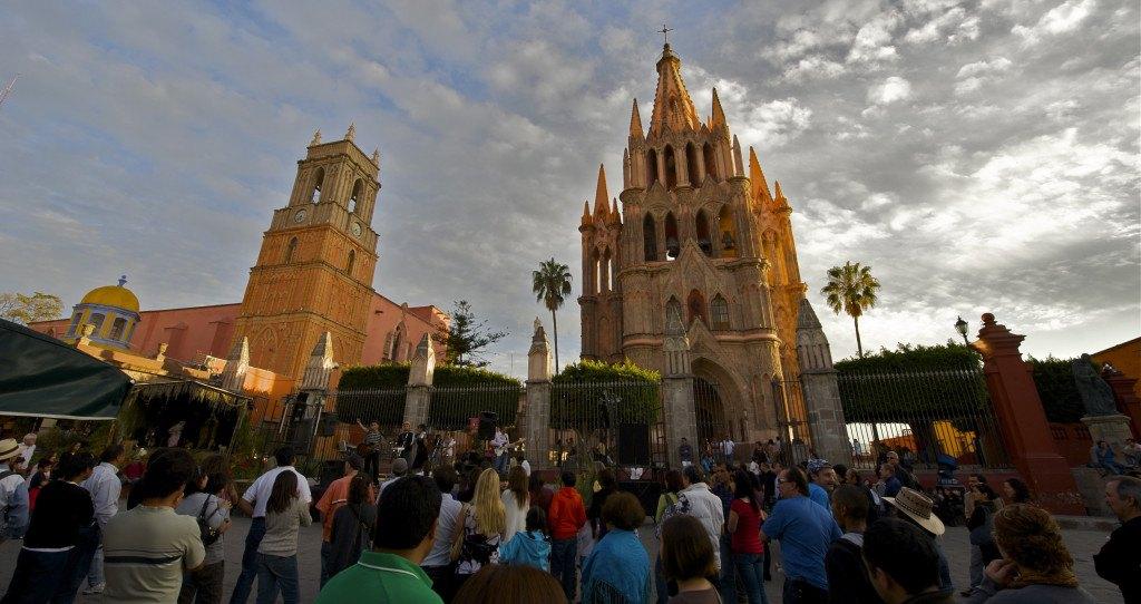 San Miguel de Allende - Basilique de San Miguel Arcángel ©Mark Mitchell