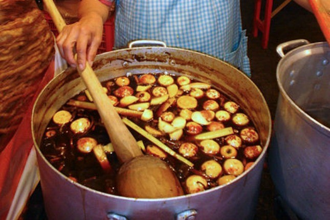 La préparation del Ponche