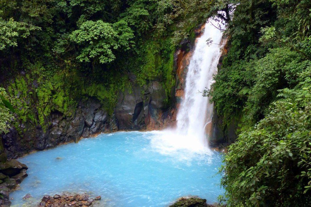 Rio Celeste, parc national Manuel Antonio, Costa Rica