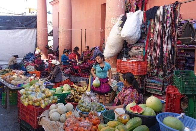 Culture maya : les marchés