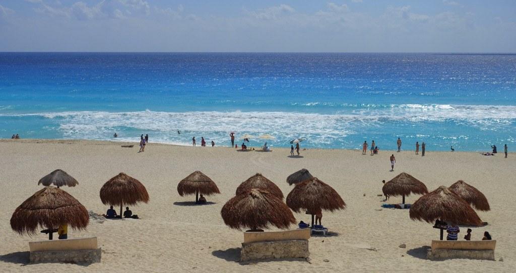 Quand partir au Mexique : plage de Cancún ©Mathilde Arnod