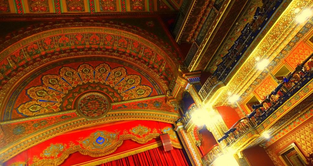 Théâtre Juarez - Guanajuato ©Mathilde Arnod