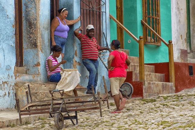 Dans les rues de La Havane © Enrico Pighetti