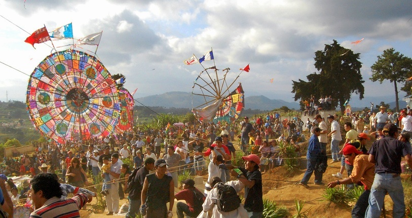 Quand partir au Guatemala ? Festivités de la Toussaint à Santiago Sactepéquez ©Andrew Hass
