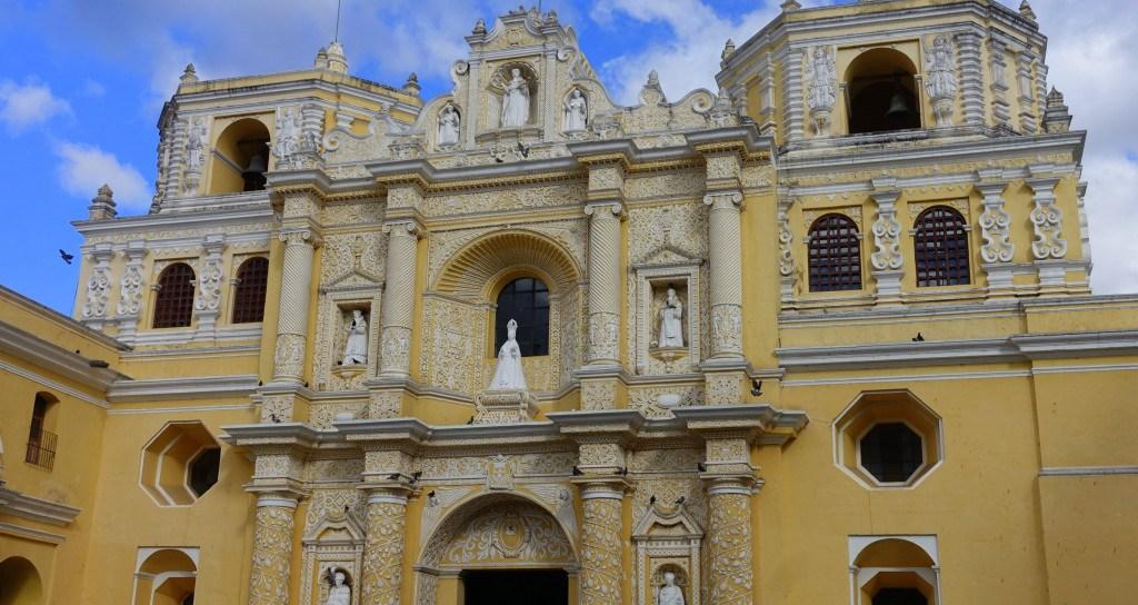 Antigua Guatemala : église de La Merced ©Mathilde Arnod