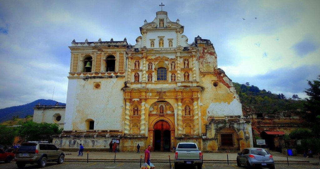 Antigua Guatemala : église de San Francisco ©Mathilde Arnod