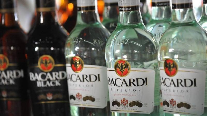 Bacardi bouteilles