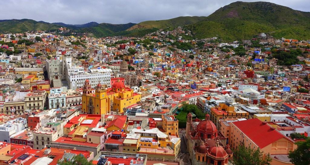 Vue panoramique - Guanajuato ©Mathilde Arnod