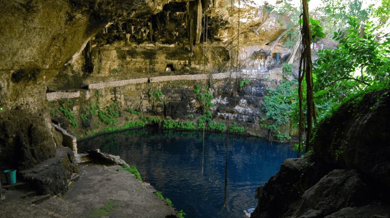 Le cenote Zaci - Flickr : Bernard Dupont