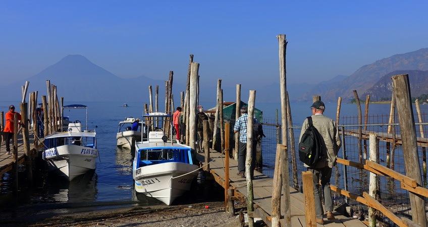 Quand partir au Guatemala ? Lac Atitlán sur l'Altiplano ©Mathilde Arnod